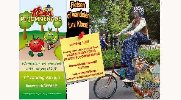 Kloen P(r)Ommenade en Kids TOUR