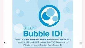 Kloen op Bubble ID