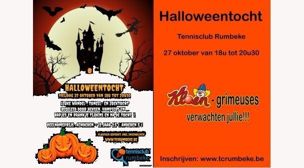 Halloweentocht Tennisclub Rumbeke