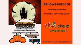 Halloweentocht Tennisclub Rumbeke