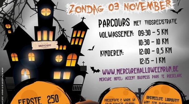 Halloween Run Hotel Mercure