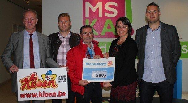 MSKA Roeselare loopt 20 km door Brussel voor Kloen