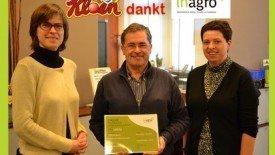 cheque van Inagro