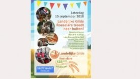 Landelijke Gilde Roeselare 125 jaar
