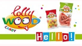 Kloen op vakbeurs Ameel Candy World