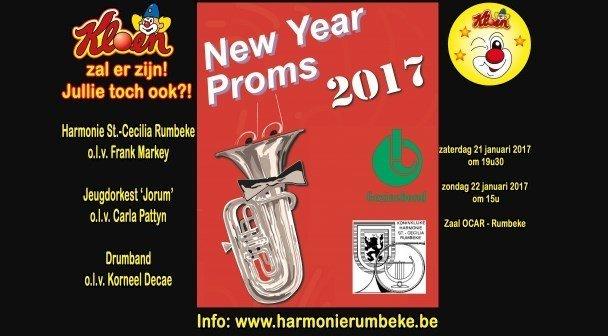 Kloen op New Year Proms Rumbeke