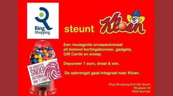 Ring Shopping Kortrijk Noord steunt Kloen
