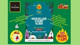 Rockvillage steunt Kloen tijdens De Warmste Week!