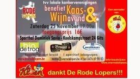 Rode Lopers Kaas- en wijnavond 2017
