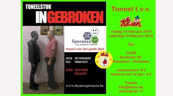 Theater Speranza - 'Ingebroken'
