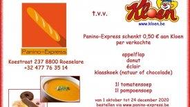 Warme actie van Panino-Express