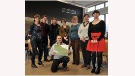 Inagro schenkt 2000 euro aan Kloen in kader van Music for Live