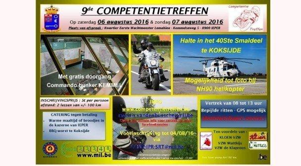 9de Competentie motortreffen te Ieper t.v.v. Kloen