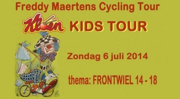 Kloen Kids Tour 2014 Frontwiel 2014