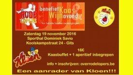 Rode Lopers Kaas- en wijnavond 2016