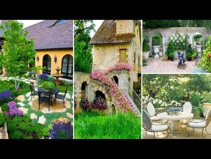 French Style Garden Ideas