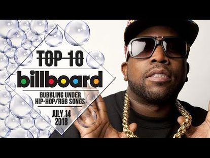 Top 10 Us Bubbling Under Hip Hop R B Songs July 14