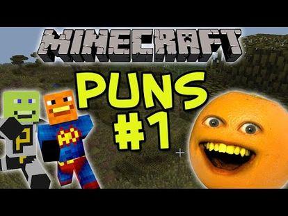 Annoying Orange Lets Play Minecraft - GREAT ZACK SCOTT! - 00:00-4:45