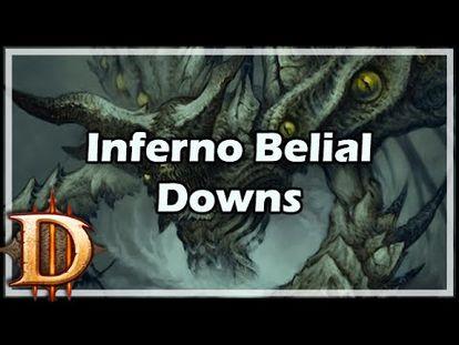 Diablo 3] Day 3: Infernolol / Belial Inferno Down - 00:00-2:54 - Tue