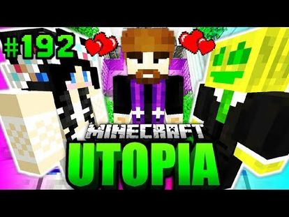 CHAOS Im KINDERGARTEN Minecraft Utopia YouTube - Minecraft utopia spielen