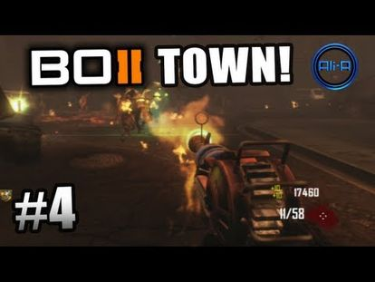 Black Ops 2 Zombies Gameplay Town Survival Live W Ali A Part