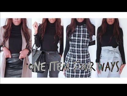 205856e9412 Workwear Lookbook   Office Outfit Ideas – YouTube – heartonyoursleeve ca