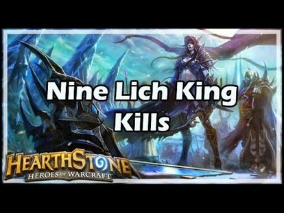 Hearthstone: How to defeat The Lich King with all 9 classes - 00:00-48:32 -  Tue May 15 2018 9:48:41 AM