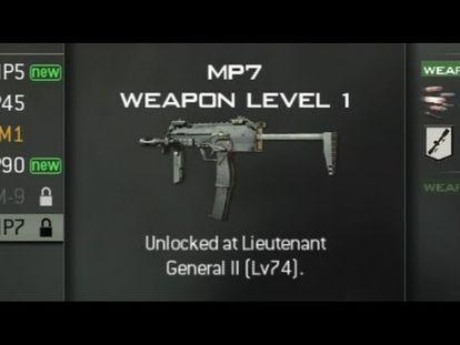 Call of Duty: Modern Warfare 3 - SMGs Level Unlocks (COD MW3 Sub Machine  Guns) - 00:00-2:28 - Mon Jun 25 2018 7:22:06 AM
