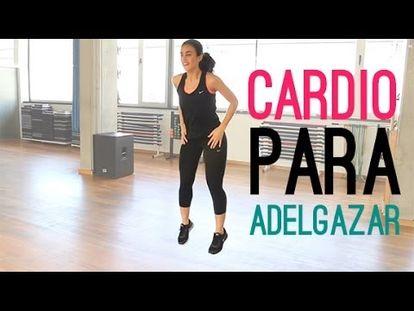 ejercicios cardio para adelgazar dakidissay
