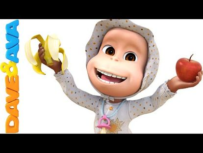 Apples and Bananas Song   Nursery Rhymes and Baby Songs from Dave