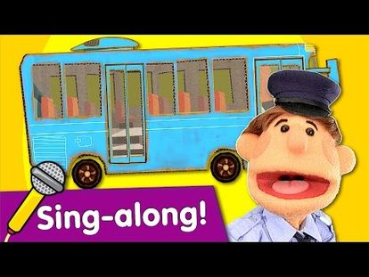 The Wheels On The Bus   Learn Kids Songs   Sing Along With Tobee