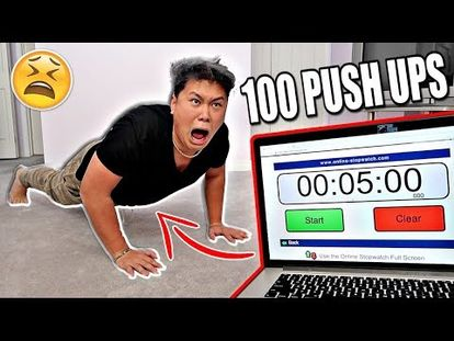HOW TO DO 100 PUSHUPS EVERY DAY! - 5 Minute Body Workout - 00:00-6
