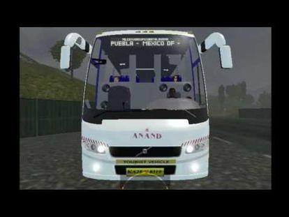 Indonesia bus simulator skin in msrtc bus - 00:00-1:06 - Tue Aug 21