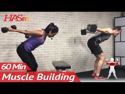 60 Min Upper Body Workout At Home With Dumbbells Chest And Back Routine Exercises For Women Men 00 00 1 07 50 Fri Jun 01 2018 5 12 36 Am