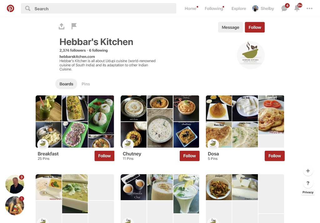 hebbars kitchen on pinterest but kloojj is better to save recipes - Hebbars Kitchen 2