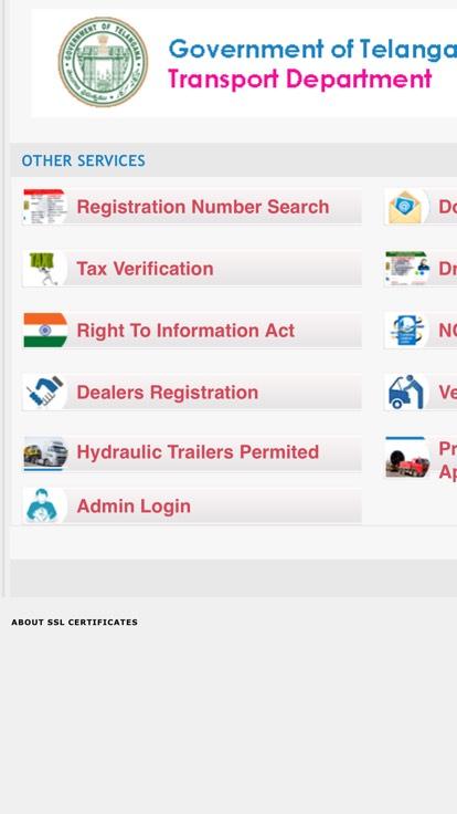 ap transport department tax verification