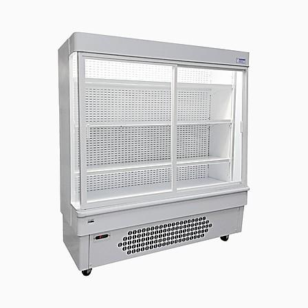 Kühlregal mit Glasschiebetüren
