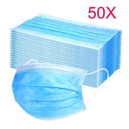 Einmal Mundschutz pro Karton a 50 Stück