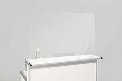 Spuckschutz transparent