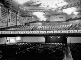 Inside of old Capitol Theatre, Tamworth