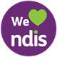 We Love NDIS logo