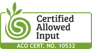 Certified Allowed Input Logo