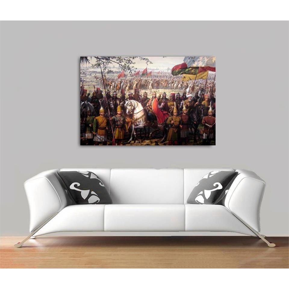 لوحة بتصميم فتح إسطنبول 1453