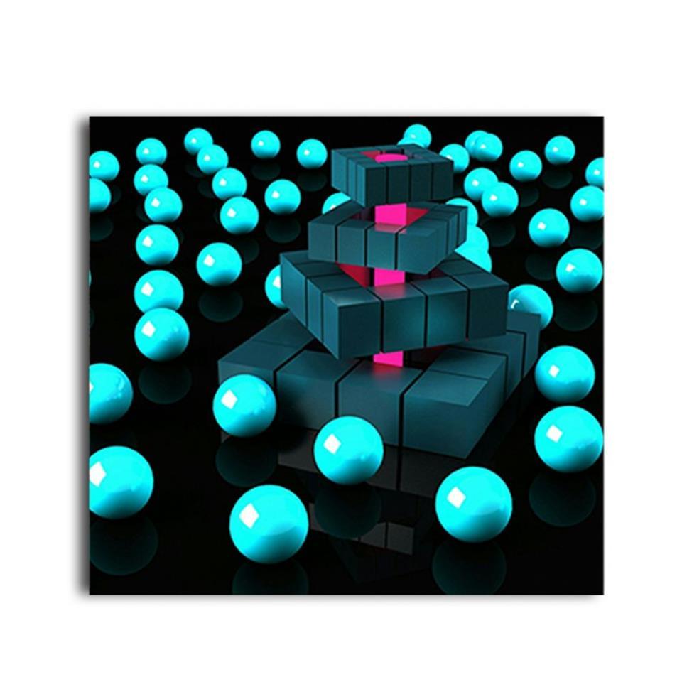 لوحة بتصميم لعبة متعددة الألوان