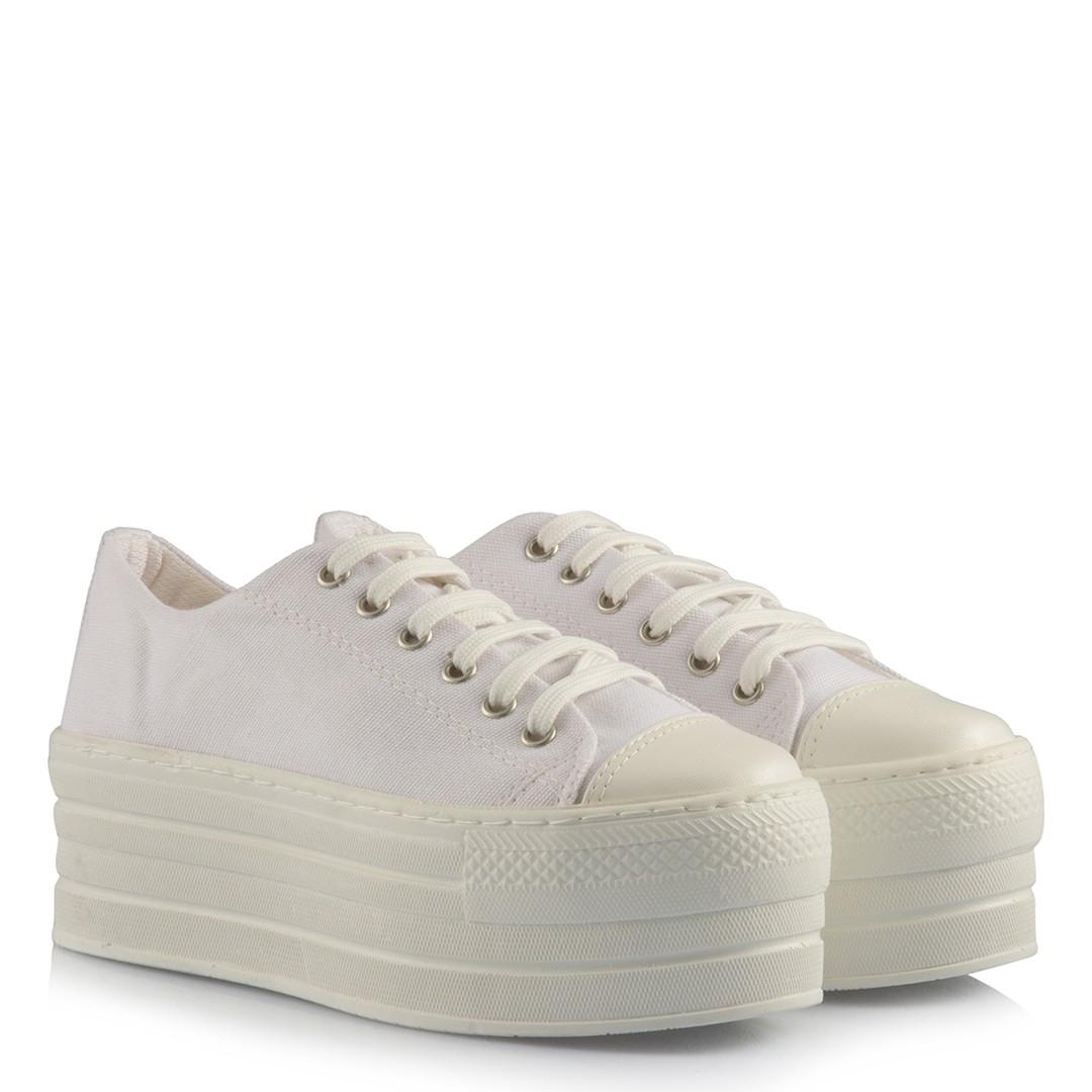Women's High Base Linen Bridal Sport Shoes