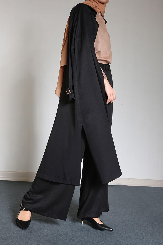Women's Black Outfit Set – 2 Pieces