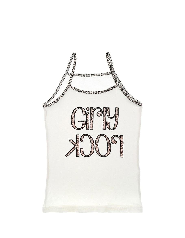 Girl's Printed Sleeveless Undershirt