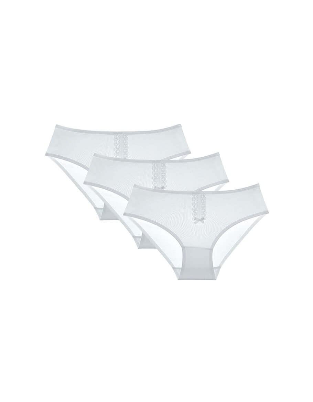 Girl's White Panties- 3 Pieces