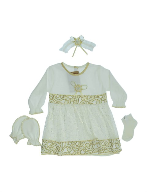 Baby Girl's Special Day 6 Piece Outfit Set