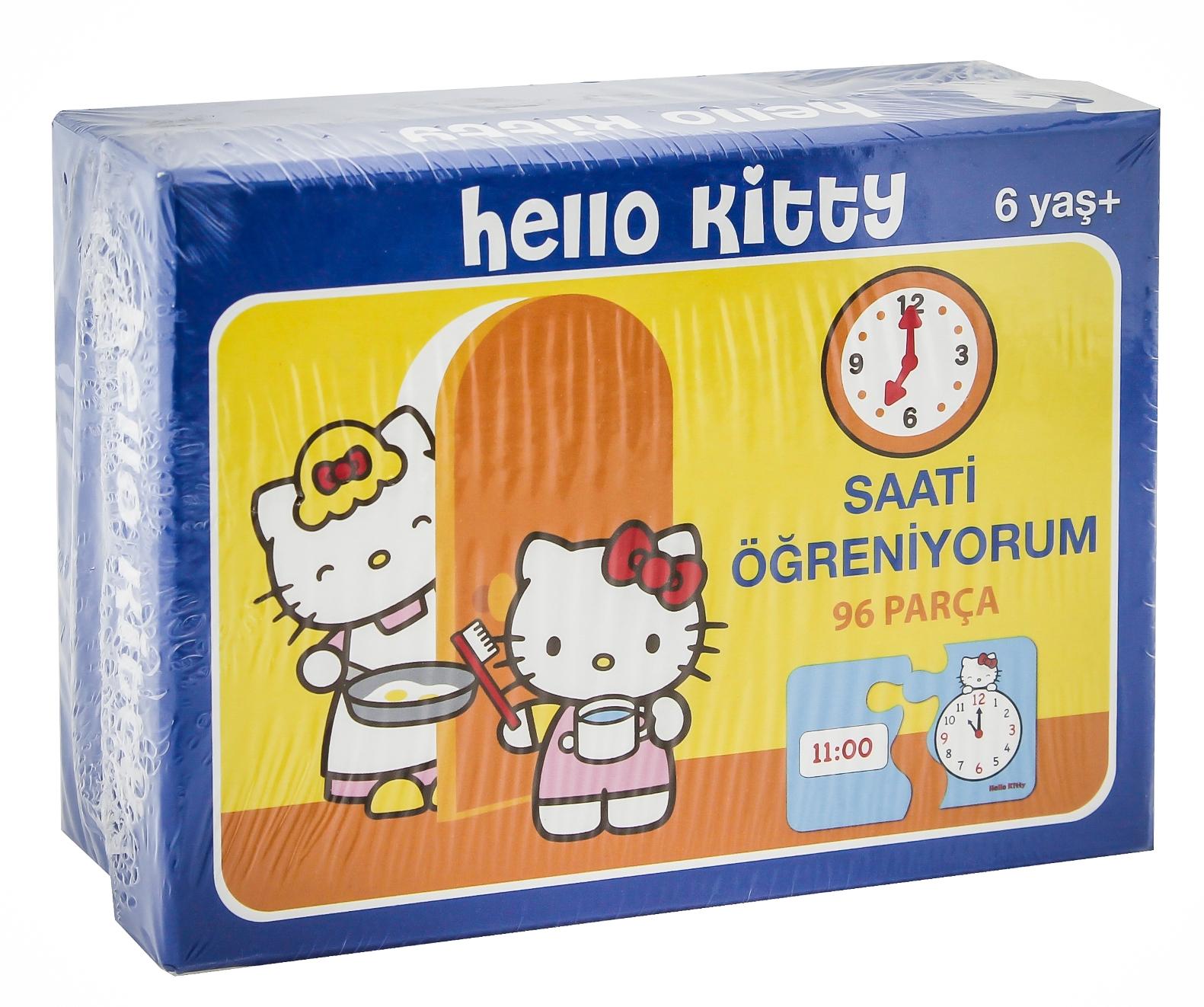 لعبة هيلو كيتي تعلم مفردات اللغة الإنجليزية- 52 قطعة